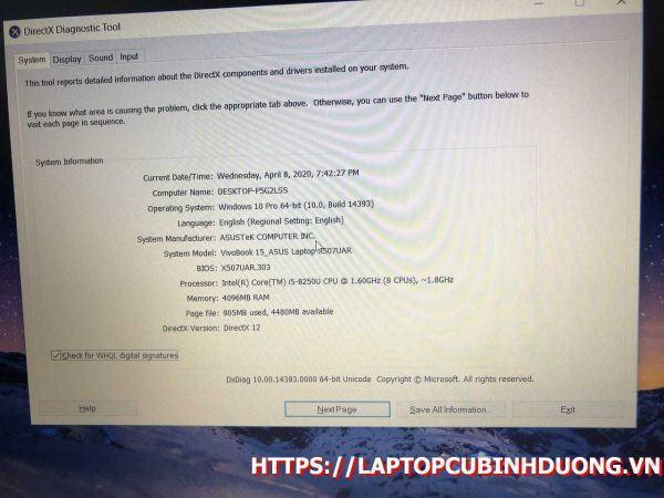 Laptop Asus X507 I5 8250u 4g 1t Lcd 15 Laptopcubinhduong.vn 1 [kích Thước Gốc] Result