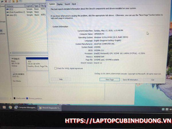Asus X453 N3540 4g 500g Lcd 14 Laptopcubinhduong.vn 2 [kích Thước Gốc] Result