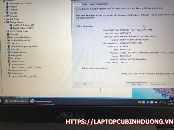 Laptop Asus X456 I5 7200u 4g Ssd 128g Nvidia Gt930mx Laptopcubinhduong.vn 4 [kích Thước Gốc] Result