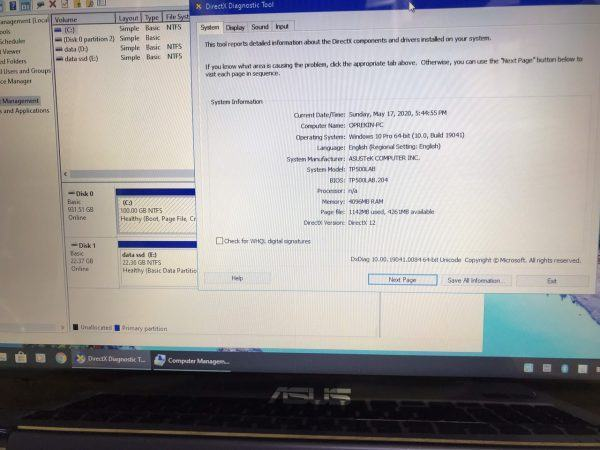 Asus Tp500 I5 5200u 4g 1t Lcd 15 Cam Ung Laptopcubinhduong.vn 2