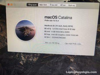 Macbook Air 2014 I5 4g Ssd 128g Lcd 11 Laptopcubinhduong.vn