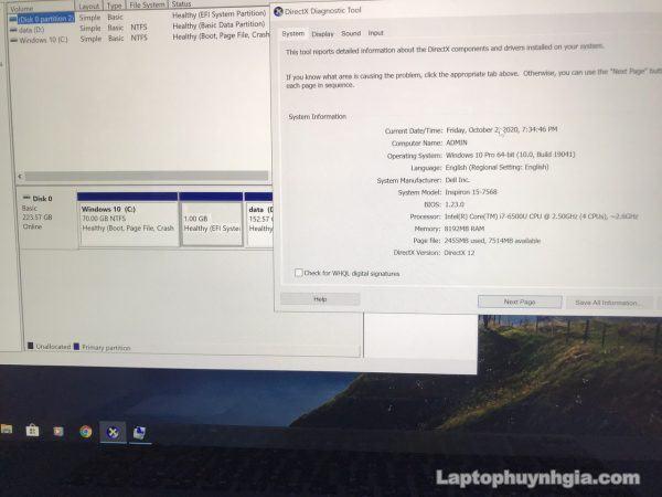 Dell N7568 I7 6500u 8g Ssd 256g Lcd 15 4k Laptopcubinhduong.vn 1