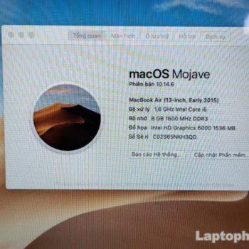 Macbook Air 2015 I5 8g Ssd 128g Lcd 13 Laptopcubinhduong.vn 3