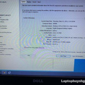 Dell V3468 I5 7200u 4G HDD 500G LCD 14 Laptophuynhgia.com 3 - Laptop Cũ Bình Dương Huỳnh Gia - TRÙM LAPTOP CŨ